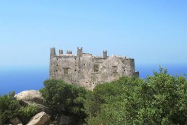 Agia Tower on Naxos Island
