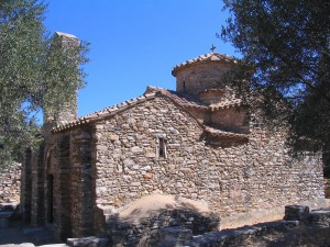 Agios Georgios Diassoritis Church in Naxps