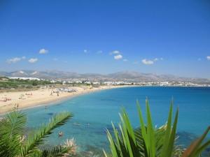 Agios Prokopios Beach on Naxos Island