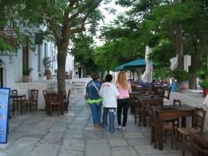 Apeiranthos village in Naxos