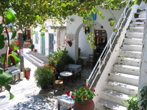 Koronos Village in Naxos
