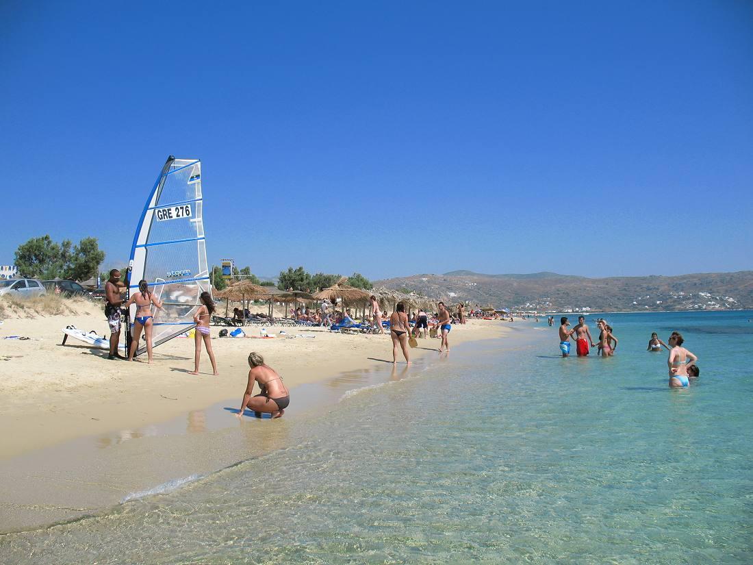 Plaka Beach In Naxos Hotels