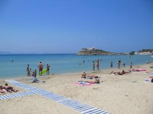 Saint George Beach in Naxos
