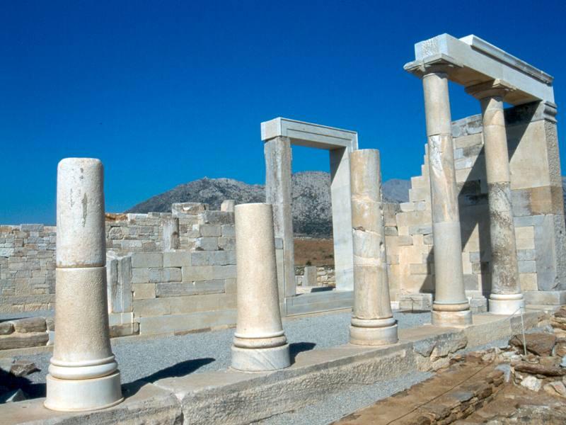 Dimitra Temple in Sagri area
