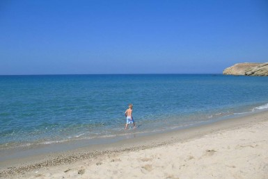Amitis Beach in Naxos Greece