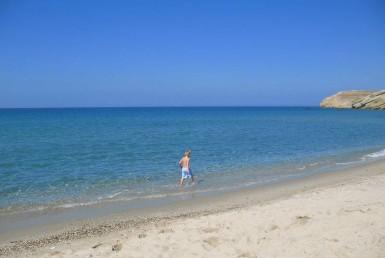 Amitis Beach in Naxos Greece