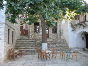 Apeiranthos village in Naxos