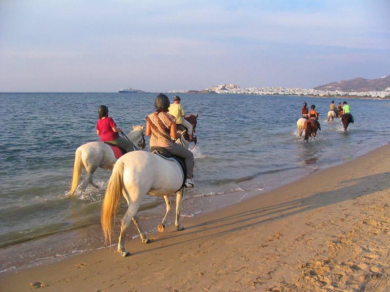 Naxos horse riding