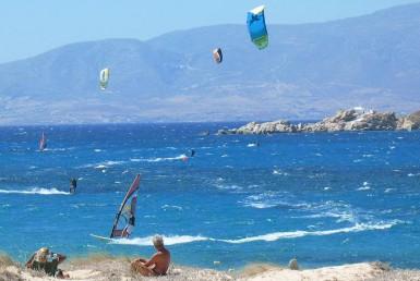Kite Surfing in Naxos
