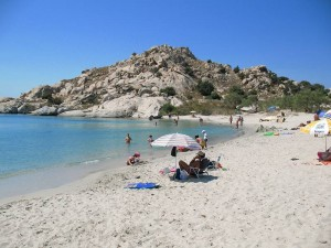 Mikri Vigla Limanaki beach in Naxos