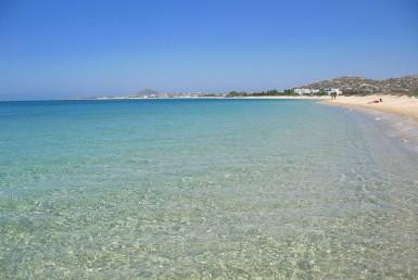 Orkos beach Naxos