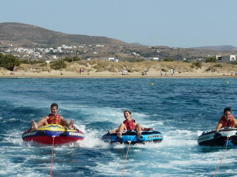 Watersports in Naxos