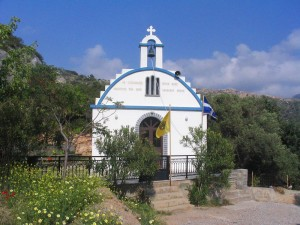 Church in Naxos