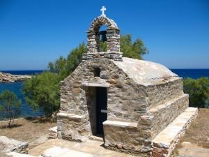 Church close to Moutsouna